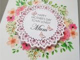 Mother S Day Greeting Card Handmade Personalised Mothers Day Card Handmade Greeting Cards