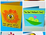 Mothers Day Diy Card Ideas Easy Mother S Day Cards Crafts for Kids to Make with