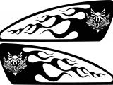 Motorcycle Stencils Templates Motorcycle Airbrush Stencils Free Clipart