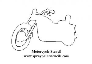 Motorcycle Stencils Templates the Gallery for Gt Motorcycle Outline Template