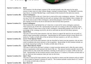 Motorsport Sponsorship Proposal Template 10 Best Images Of Racing Sponsorship Proposal Template