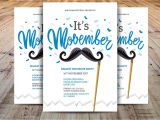 Movember Email Template Minimal Movember Flyer Template Flyer Templates