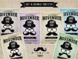Movember Email Template Movember Flyer Template Flyer Templates On Creative Market