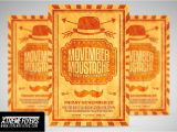 Movember Email Template Movember Moustache Flyer Flyer Templates On Creative Market