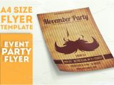 Movember Email Template Movember Party Flyer Template Flyer Templates On