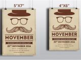 Movember Email Template Movember Party Flyer Template V428 Flyer Templates On