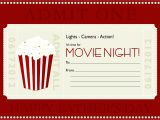 Movie Gift Certificate Template June 2012 Designer Droppings