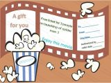 Movie Gift Certificate Template Movie Tickets Gift Certificate Template