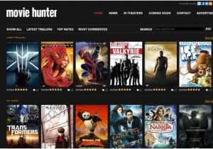 Movies HTML Template 30 Free Premium Css Xhtml Website Templates Freebies