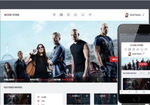 Movies HTML Template 6 Bootstrap Movie Cinema Templates Designerslib Com