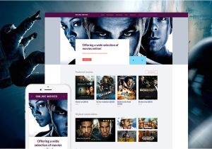 Movies HTML Template Movie Online Website Template