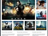 Movies HTML Template Movie Reviews Responsive Website Template