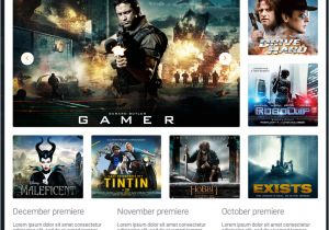 Movies HTML Template Movie Reviews Responsive Website Template