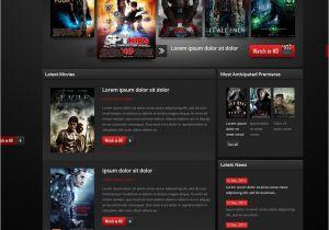 Movies HTML Template Movie Website Template 38511