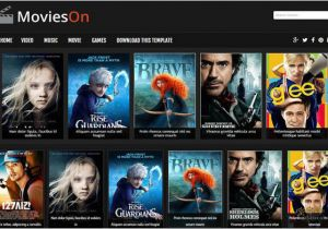 Movies HTML Template top 10 Movie Templates for Blogger 2016