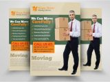 Moving Company Flyer Template Moving House Services Flyers Flyer Templates Creative