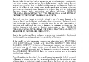 Moving Contract Template 11 Moving Company Contract Templates Word Docs Examples