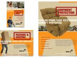 Moving Flyers Templates Free Movers Moving Company Flyer Ad Template Design