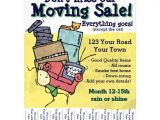 Moving Flyers Templates Free Moving Sale Customizable Flyer Zazzle