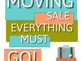 Moving Sale Flyer Template Free Copy Of Moving Sale Postermywall
