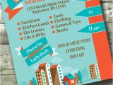 Moving Sale Flyer Template Free Moving Sale Infographic 5×7 Invite 8 5×11 Flyer