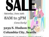 Moving Sale Flyer Template Free Moving Sale Please Spread the Word
