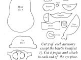 Mr Potato Head Felt Template Sewing Patterns Games and Puzzles On Pinterest Quiet