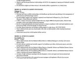 Msl Resume Sample Medical Science Liaison Resume Samples Velvet Jobs