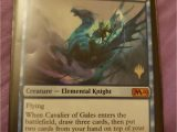 Mtg Modern Horizons Card Value New Magic the Gathering Card Cavalier Of Gales Magic the