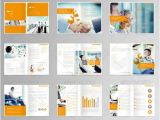 Multi Page Brochure Template Free 20 Awesome Corporate Brochure Templates Xdesigns