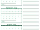Multiple Month Calendar Template Printable Multi Month Calendars Calendar Template 2018