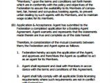 Music Booking Agent Contract Template Sample Agent Contract Agreement 9 Examples In Word Pdf