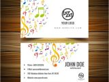 Music Business Cards Templates Free 21 Music Business Cards Free Psd Ai Vector Eps
