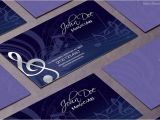 Music Business Cards Templates Free Free Music Business Card Template Business Cards Templates
