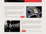 Music Email Template Email Marketing Templates Music