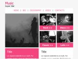 Music Email Template Music Email Newsletter Templates Email Newsletter