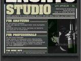 Music Studio Flyer Template Free Download Photoshop Vector Stock Image Via torrent
