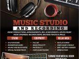 Music Studio Flyer Template Music Recording Studio 2 Flyer Poster by Giunina On Deviantart