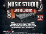 Music Studio Flyer Template Music Recording Studio 3 Flyer Poster by Giunina On Deviantart