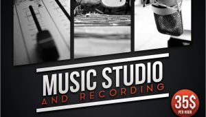 Music Studio Flyer Template Music Recording Studio Flyer Poster by Giunina On Deviantart