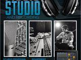Music Studio Flyer Template Music Studio 4 Flyer Poster by Giunina On Deviantart