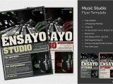 Music Studio Flyer Template Music Studio Flyer Psd Design Template