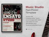 Music Studio Flyer Template Music Studio Flyer Template by Lou606 Graphicriver