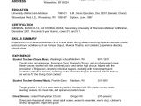 Musician Resume Samples Music Resume for College Application Resume Ideas