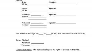 Muslim Will Template 10 Best Images Of islamic Divorce Certificate Sample