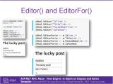 Mvc Editor Templates asp Net Mvc Template Engine aspnet Mvc Razor In Depth On