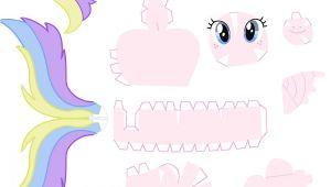 My Little Pony Diy Card Tutti Frutti Papercraft by Nodreams Deviantart Com On