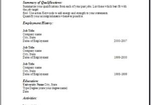 My Resume is Blank Free Blank Resume Examples Samples Free forms to Edit with