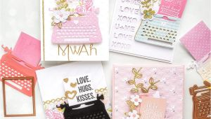 My Type On Paper Card Spellbinders Karten Basteln Kartenideen Und Karten