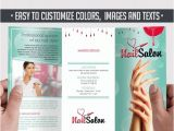 Nail Brochure Templates Free Nail Free Tri Fold Psd Brochure Template by Elegantflyer